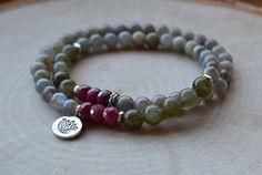Wrap Bracelet Protection Purity Labradorite by GratefulHeartBazaar