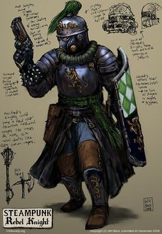 steampunk knight - Google Search