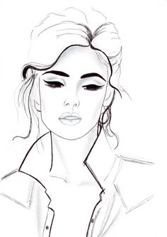 Pen and Pencil fashion illustration Titled All by FallintoLondon