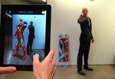 Become a Superhero by Using The Avengers AR App