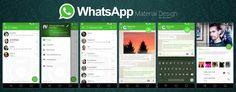 WhatsApp - Material UI by dj-corny.deviantart.com on @deviantART