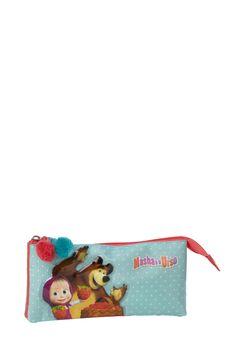 Pencil case Masha and the Bear #Kstationery #Mashaandthebear #Mashaeourso