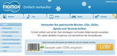 Bücher Ankauf, CD Ankauf & Verkauf, DVD Ankauf & Spiele verkaufen - momox.de