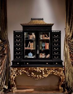 Mobili Provasi from Italy.  Courtly Cabinet.