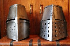 Dargen Pommern verses Bolzano great helms face on by One lucky guy, via Flickr