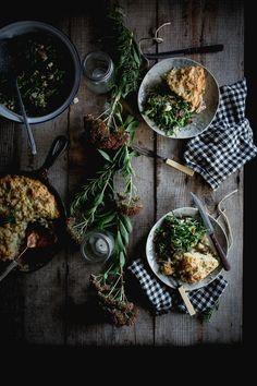 Local Milk | Chicken & Biscuit Cobbler + Pot Likker Salad + Sorghum Meringue Pie // Home & Hill Magazine Issue #2