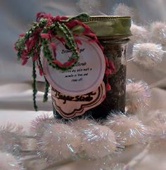 an affair from the heart: Homemade Sugar Scrubs - Great Holiday Gift
