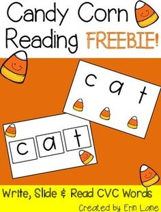 This freebie comes from my Candy Corn Reading Pack!See a blog post and video of me doing this activity over at Inspired Elementary!Enjoy!Erin LaneCandy Corn Reading by Erin Lane is licensed under a Creative Commons Attribution-NonCommercial-NoDerivatives 4.0 International License.