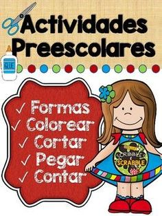Actividades Preescolares en Espanol Reading Resources, School Resources, Teacher Resources, Esl Resources, Teaching French, Teaching Spanish, French Language, Foreign Language, Second Language