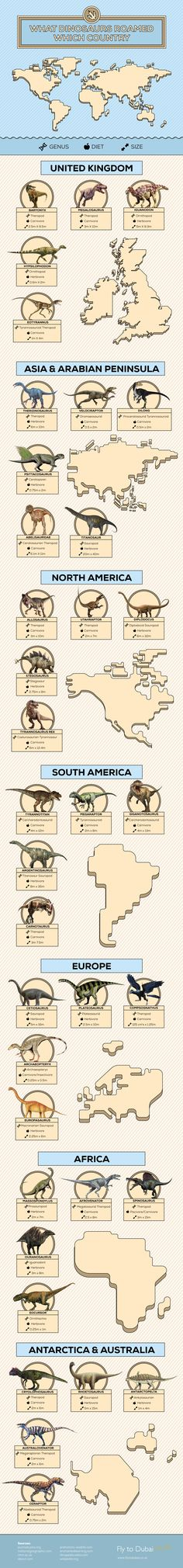 Have you ever wondered what dinosaurs roamed your backyard or fought for survival at your local supermarket?