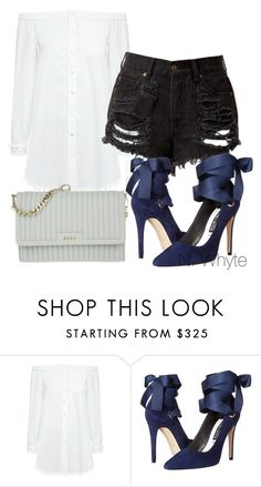"""lunch date"" by vannessa-cmlv on Polyvore featuring 10 Crosby Derek Lam, Alice + Olivia and DKNY"