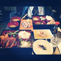 #bento, #japanese, #japanesefood at Tenshi, Angel .@Trang Phan (Trang Phan) s Instagram photos | Webstagram - the best Instagram viewer