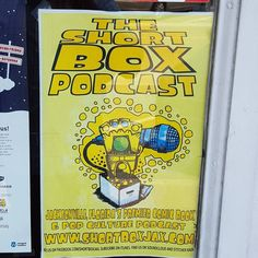 @superhero_hive put up this @theshortboxjax poster only because @badrblueup has 300 #marvel and 600 #hentaii comics on pull.  #comicbook #comics #jacksonville #podcast #local #igdaily #GAAM