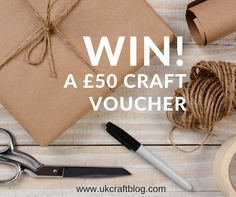 Craft Blog UK: Packaging Your Work - Plus Win a £50 Craft Voucher from Abakhan!