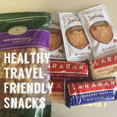 Tips for healthy snacks to pack while traveling - and what snacks are safe to carry through TSA!