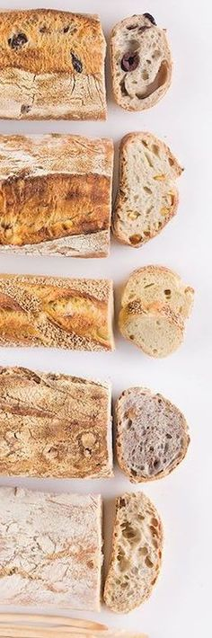 The basic steps for making bread at home.