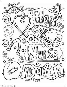 Happy School Nurse Day! nurse hat cards school nurse