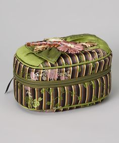 Take a look at this Green Stripe Abigale Jewelry Case by Goody Goody ...