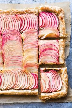 Apple Frangipane Tart