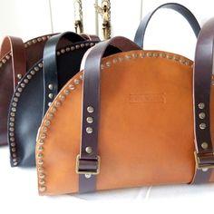 EvaVera Design. Handmade leather bags. New colecction Nuevos bolsos de piel hechos a mano.