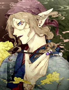 Kusuriuri - He kinda scares me... but I'm still strangely attracted to him.