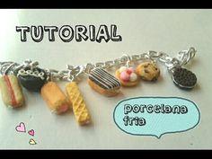 Pulsera de panquesitos y galletas TUTORIAL PORCELANA FRIA - YouTube
