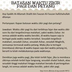 BATASAN WAKTU ZIKIR PAGI DAN PETANG Islamic Inspirational Quotes, Islamic Quotes, Self Reminder, Muslim Quotes, Always Remember, Doa, Quran, Allah, Grateful