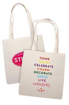 Love this collaboration between The Strand & kate spade new york.