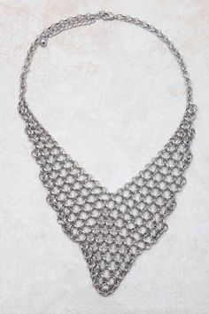 Silver Reese Statement Necklace
