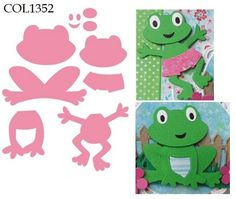 Marianne Design - Die - Collectables - Frog (set) Knutselruimte AGUINIJ