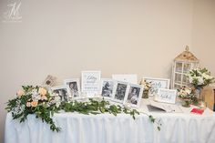 www.firstclassfunctions.com.au  Having a memory table is such a special touch to add to your wedding