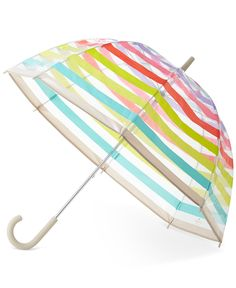 kate spade new york Candy Striped Umbrella - kate spade new york - Handbags & Accessories - Macy's