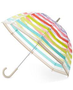 kate spade new york Candy Striped Umbrella - kate spade new york - Handbags & Accessories - Macy's