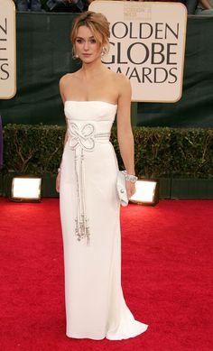 Keira Knightley  - Golden Globe Awards 2006 - Valentino dress