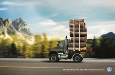 Volkswagen: Logging | Ads of the World™