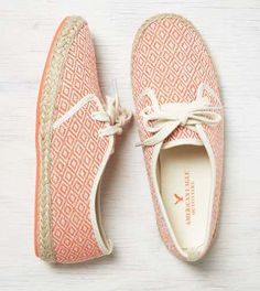 AEO Lace-Up Espadrille Sneaker - Buy One Get One 50% Off + Free Shipping