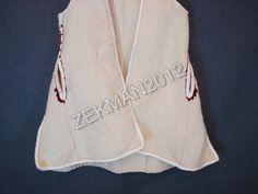 Antique Traditional Macedonian Woolen Women's Vest from Strushko Pole | eBay