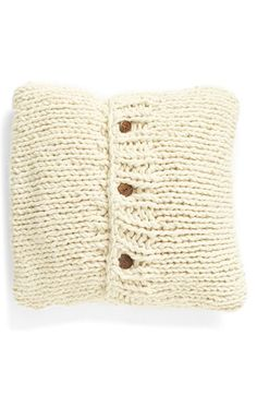 Nordstrom at Home Nordstrom at Home 'Grand' Cable Knit Accent Pillow available at #Nordstrom