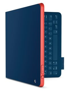 Repin and then click on the image to enter for a chance to win the Logitech FabricSkin Keyboard Folio in Mystic Blue.