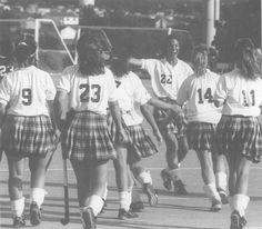 The 1993 EMU field hockey team.
