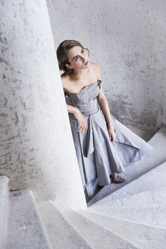 Michel Mayer Vienna, Minimalism, Strapless Dress, Profile, Chic, Dresses, Style, Fashion, Wedding