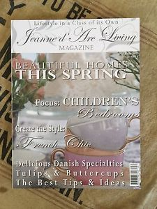 RARE Jeanne D'Arc Living Magazine 2011 2nd Edition Denmark Antiques Decor | eBay