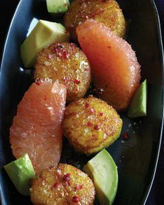 Sweet Paul's Curry Dusted Scallops with Grapefruit