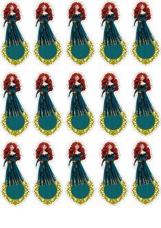 Brave Disney, Princesas Disney, Cardmaking, Painting, Brave Merida, Joker Card, Favors, Adhesive, Paper
