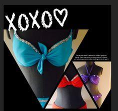 Uniek handgemaakte bikini's €54,95 http://www.xfactorbikini.nl