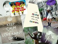 Etes-vous Singing in the rain ou Il pleut, il pleut bergère ? Moodboard : It's raining ! :(