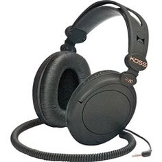 Full-Size Home Stereophones  Koss 154336  PRICE DROP!