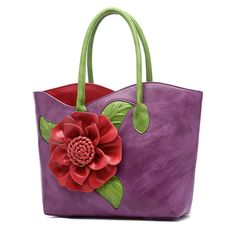 3a354350b83 Brenice Women National Style Flower Decoration Handbag PU Leather Sling Bag  is designer