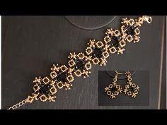Beaded Braclets, Beaded Bracelets Tutorial, Bead Loom Bracelets, Beaded Bracelet Patterns, Beaded Earrings, Beaded Jewelry Designs, Handmade Beaded Jewelry, Bead Jewellery, Handmade Bracelets