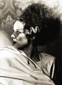 Elsa Sullivan Lanchester (28 October 1902– 26 December 1986), known as Elsa Lanchester, was an English-born American actress with a long career in theatre, film and television.Her role as the title character in Bride of Frankenstein (1935) brought her recognition. She played supporting roles through the 1940s and 1950. [Pic:Elsa Lanchester in Bride of Frankenstein (1935)]